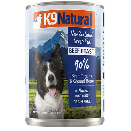 K9 Natural Beef Canned 370g