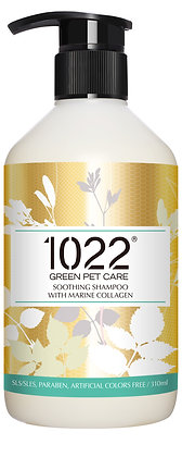 1022 Soothing Dog Shampoo 310ml/4l