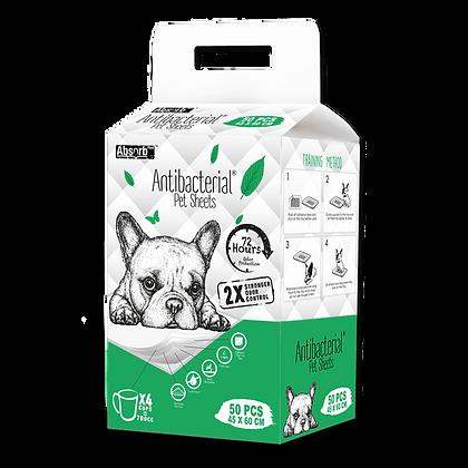 Absorb Plus Antibacterial Pet Sheets (45 x 60cm)