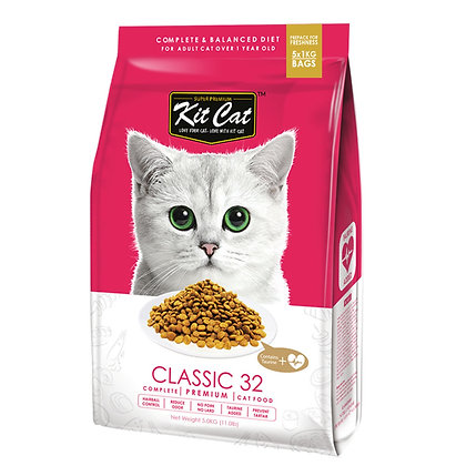Kit Cat Premium Cat Food Classic 32 5kg