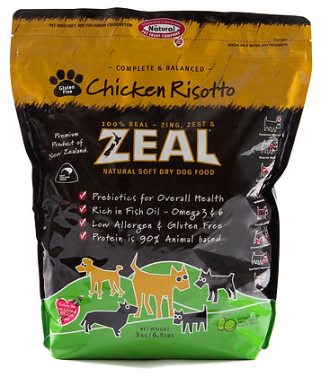 Zeal Chicken Risotto Dog Soft Dry Food 3kg