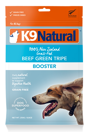 K9 Natural Beef Green Tripe Booster Feast Freeze Dried Dog Food 75g