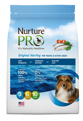 Nurture Pro Original Herring Formula Dog Dry Food 26lbs