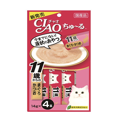 Ciao Chu ru Tuna with Collagen 14g x 4
