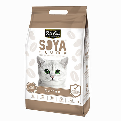 Kit Cat SoyaClump Coffee SoyBean Litter 7l