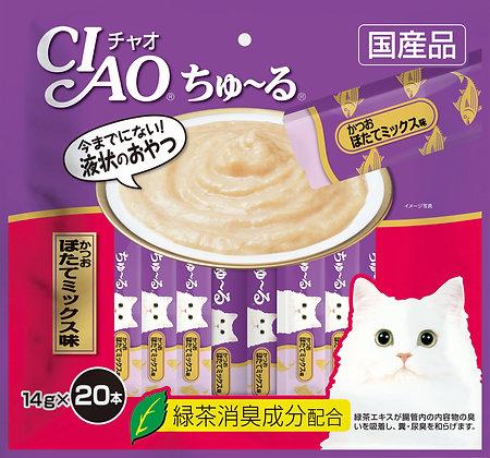 Ciao Chu ru Tuna & Scallop 14g x 20