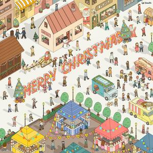 Christmas illustration 2020
