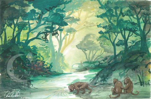 In The Heart Of The Jungle By Olivia Maria Chevallier