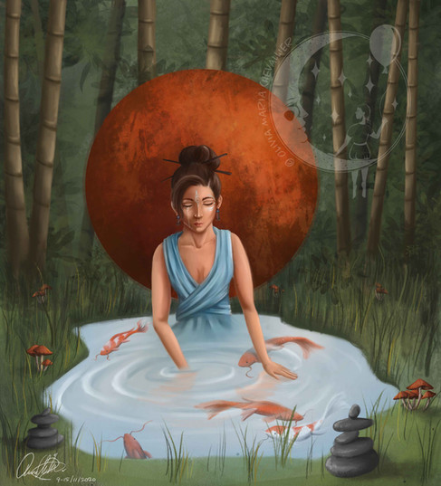 The River Of Consciousness by Olivia Maria Chevallier