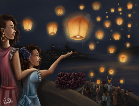 The Festival of Lights by Olivia Maria Chevallier