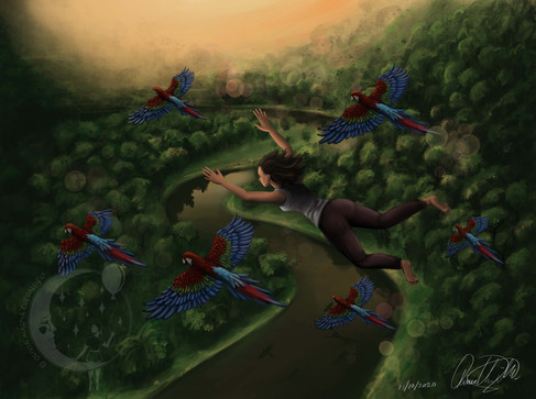 Lucid Dreaming - Part 2 by Olivia Maria Chevallier