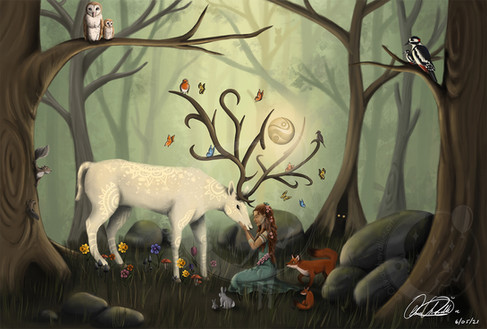 The Spirit Of The Forest by Olivia Maria Chevallier