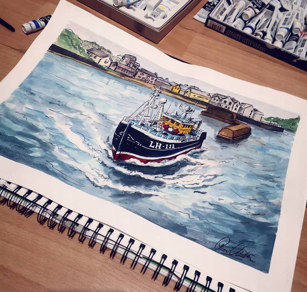 Sail Away: Private Painting