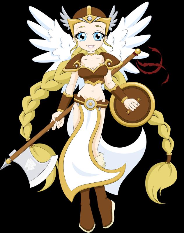 Mythical Minis- Valkyrie