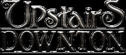 Downton logo silver effects