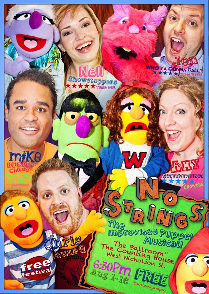 No Strings-Improvised Puppet Musical