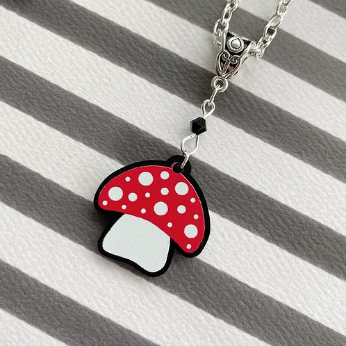 Gothic Toadstool Necklace