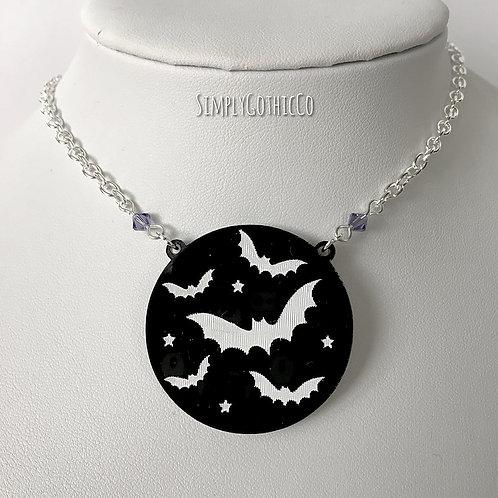 Gothic Batty Nightlife Necklace