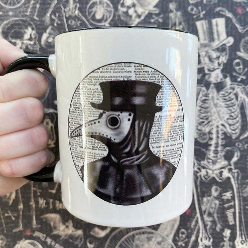 Gothic Plague Doctor Mug