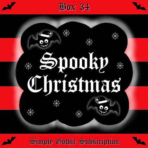 PRE-ORDER  - Simply Gothic Subscription Box 34: Spooky Christmas