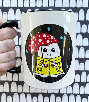 Gothic Cosy Spring Ghost Mug