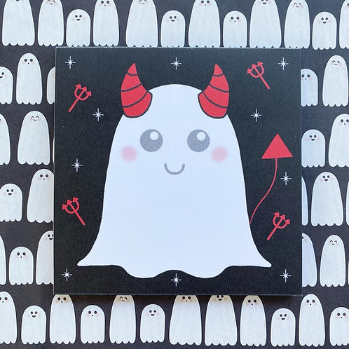Gothic Ghost Devil Notepad