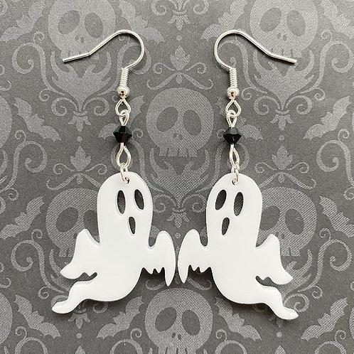 Gothic Spooky Spirit Ghost Earrings
