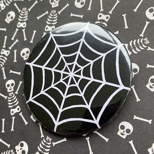 Gothic Spiderweb Pocket Mirror