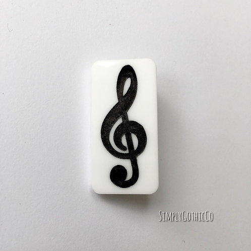 Limited Edition- Treble Clef Brooch