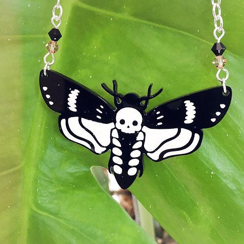 Subscription Box Special- Death Head Moth Necklace