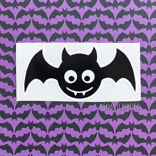 Cute Bat Vinyl Sticker