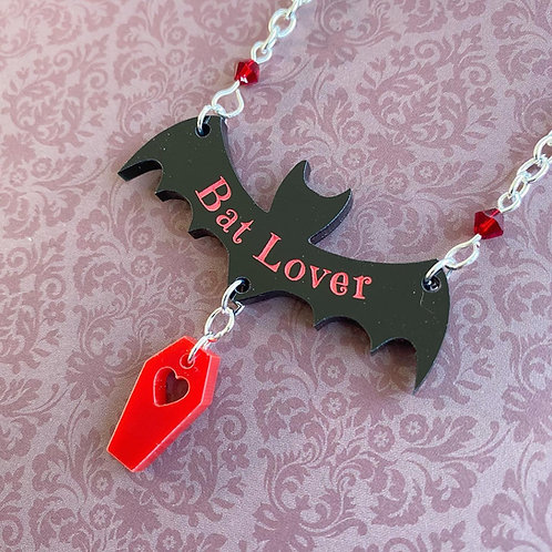 Gothic 'Bat Lover' Necklace