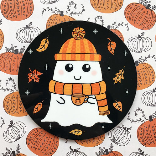 Gothic Cosy Ghost Coaster