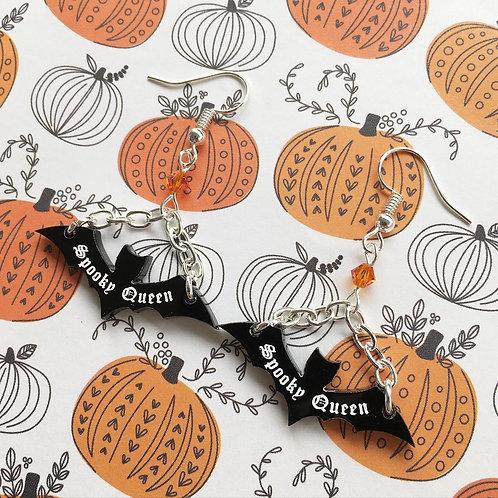 Gothic 'Spooky Queen' Earrings