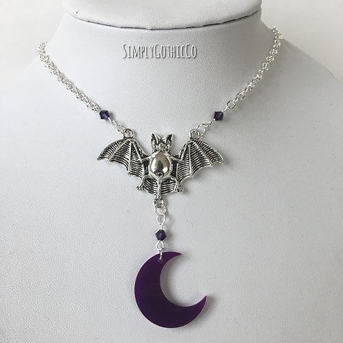 Gothic 'Twilight' Bat Necklace