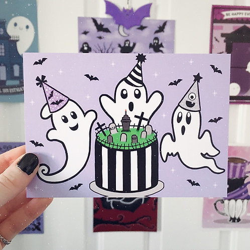 Ghost Party Art Print