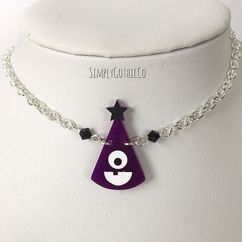 Gothic Monster Party Hat Necklace- 3 LEFT!