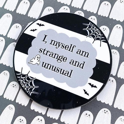 Gothic 'Strange and Unusual' Coaster