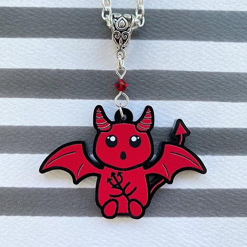 Gothic Cute Devil Necklace