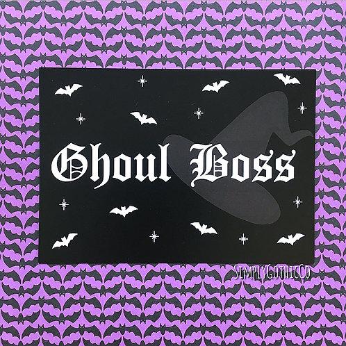 'Ghoul Boss' Art Print