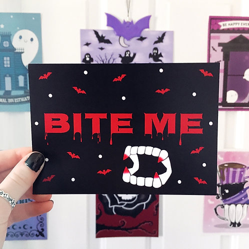 'Bite Me' Art Print