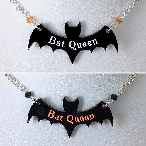 Gothic 'Bat Queen' Necklace