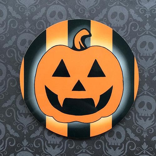 Gothic Pumpkin Coaster