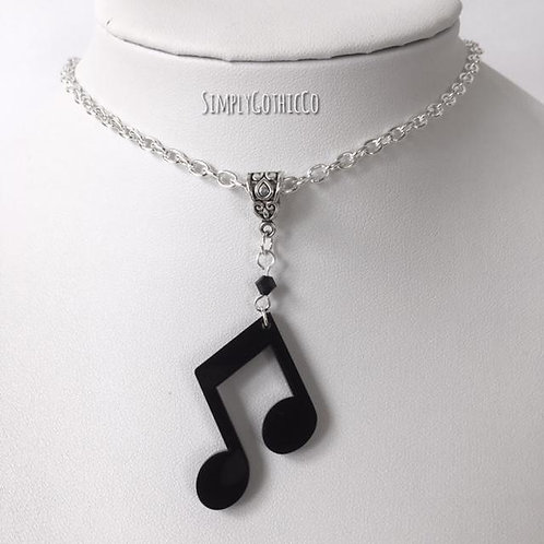 Limited Edition - Quaver Note Necklace-2 LEFT!!