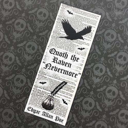 Gothic Edgar Allan Poe Bookmark