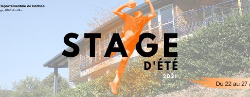 Stage vacances - Razisse 2021