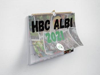 Calendrier édition 2021 - HBCA