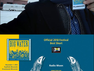 Radio Moon : best short at the Big Water Film Festival