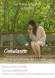 """""""Constance"""" (ou la symphonie des baisers"""" projeté au cinéma """"Luminor"""""""