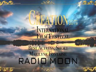 """Un prix d'interprétation pour Marilyne FONTAINE dans """"Radio Lune"""""""